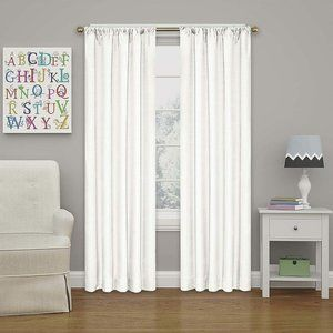 2 pack Eclipse Kendall Rod Pocket Blackout Curtain